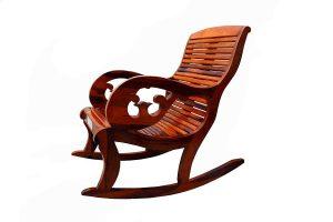 Santosha Decor Solid Sheesham Wood Pre Assemble Curve Hand