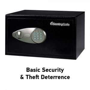 SentrySafe X105 Security Safe