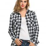 Sexyfree-Womens Flannel Shirt