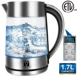 Vestaware Glass Electric Kettle 1.7L Capacity
