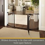 Wide Deluxe Décor Baby Gate