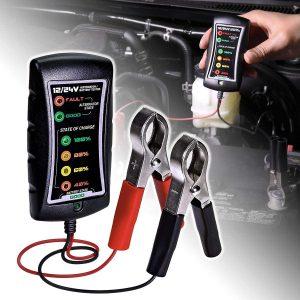 12/24V DC Automotive Battery Tester