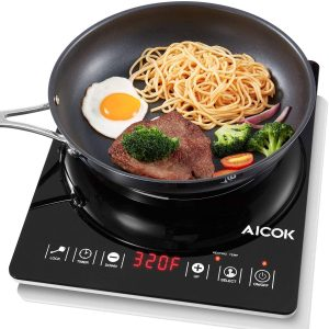 Aicok Induction Cooktop Countertop Burner Smart Sensor Touch