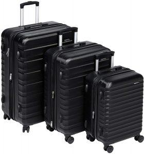 AmazonBasics Hardside Spinner Luggage - 2 Piece Set