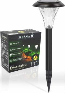 ArMax [Long-Lasting] Solar Pathway Lights