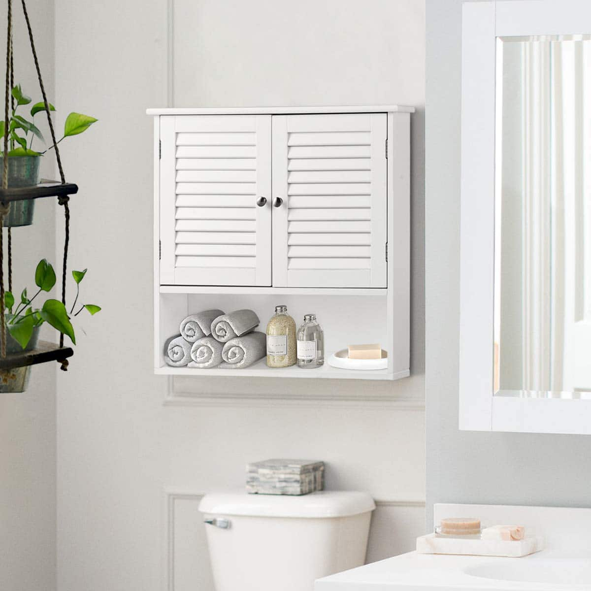 Top 10 Best Bathroom Wall Cabinets in 2020 Reviews | Buyer's Guide