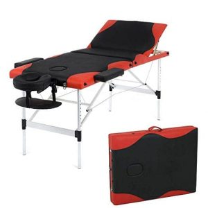 BestMassage 84-inch Height Adjustable Aluminum Massage Table