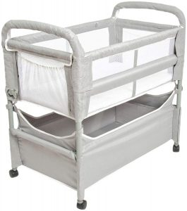 Clear-Vue Co-Sleeper, Grey, One Size, 3 Pieces