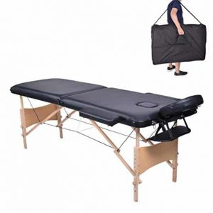 FirstWell Folding 2-Section Wooden Massage Table