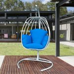 Hanging chair with stands