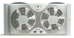 Holmes Dual Blade Twin Window Fan, HAWD2043