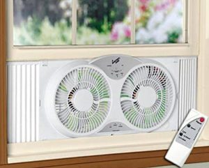 HowPlumb Portable Reversible Window Fan