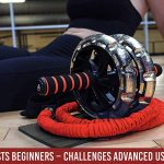 INTENT SPORTS Multi-Functional Ab Wheel Roller KIT