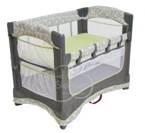 Ideal Ezee 3-in-1 Bedside Bassinet - Dandelion
