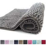 Kangaroo Plush Luxury Chenille Bath Rug (36x24) Extra Soft