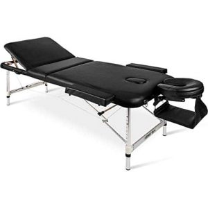 Merax Aluminum Frame Portable Massage Table
