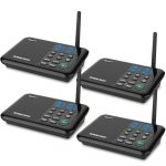 QNIGLO Wireless Intercoms Systems Long Range 0-22 Channel