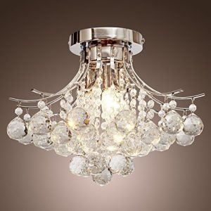 Saint Mossi Modern K9 Crystal Chandelier Lighting