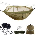 Sportneer Double Camping Hammock with Mosquito Net