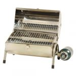 Stansport Portable Stainless Steel Propane Barbeque Grill