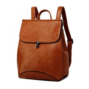 WINK KANGAROO Fashion Rucksack Shoulder Bag PU Leather