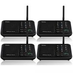 Wuloo Intercoms Wireless for Home 5280 Feet Range 10 Channel 3 Code