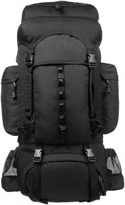 AmazonBasics Internal Frame Backpack with Rainfly