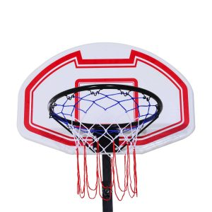 Aosom Portable Height Adjustable Basketball Hoop System