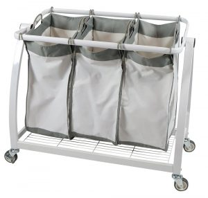 Apollo Hardware 3-Bag Laundry Sorter