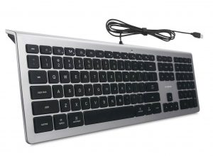 BFRIENDit Wired Quiet LED Backlit USB Keyboard