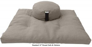Bean Products Zabuton & Zafu Meditation Cushion Set