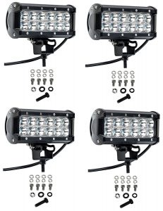 Cutequeen 4 PC 18W 1800 lm LED Spot Light