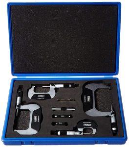 Fowler & Nsk 72-229-220 Micrometer Set