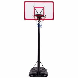 GYMAX Portable Basketball Hoop 44 Inch Backboard