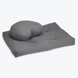 Gaiam Crescent Meditation Cushion