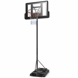 Giantex Portable Adjustable Height Stand Basketball Hoop System