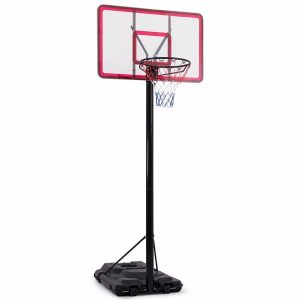 Giantex Portable Sports In-Ground Base Basketball Hoop