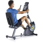 Gold's Gym Cycle Trainer 400R Exercise Recumbent Bike