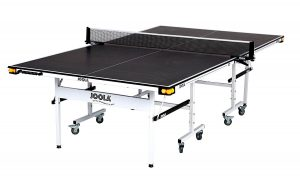 JOOLA Rally TL Tennis Table with Ball Holders and Net Set