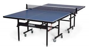 JOOLA inside Table Tennis Table Foldable Halves and Net Set
