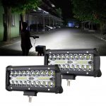 LED Light Bar 2pcs 240W 7 Inches Offroad Lights