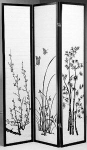 Legacy Decor 3-panel Shoji Privacy Screen Room Divider