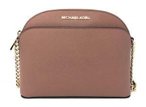 Michael Kors Emmy Medium Crossbody in Saffiano Leather