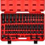 Neiko 02448A 65-Piece 1/2-Inch Drive Socket Master Set