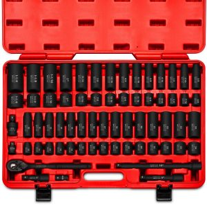 Neiko 02448A 65-Piece 1/2-Inch Drive Socket Master Set