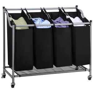 Ollieroo 4-Bag Laundry Sorter