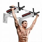 OneTwoFit Pull Up Bar Chin Up Wall Mounted Exercise Bar
