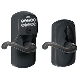 Schlage FE595 PLY 716 FLA Plymouth Keypad Entry