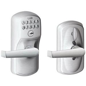 Schlage FE595CS V PLY 626 ELA Keypad Door Lock