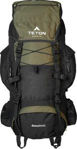 TETON Sports Scout 3400 Internal Frame Backpack